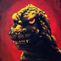 Godzilla 84 yellow